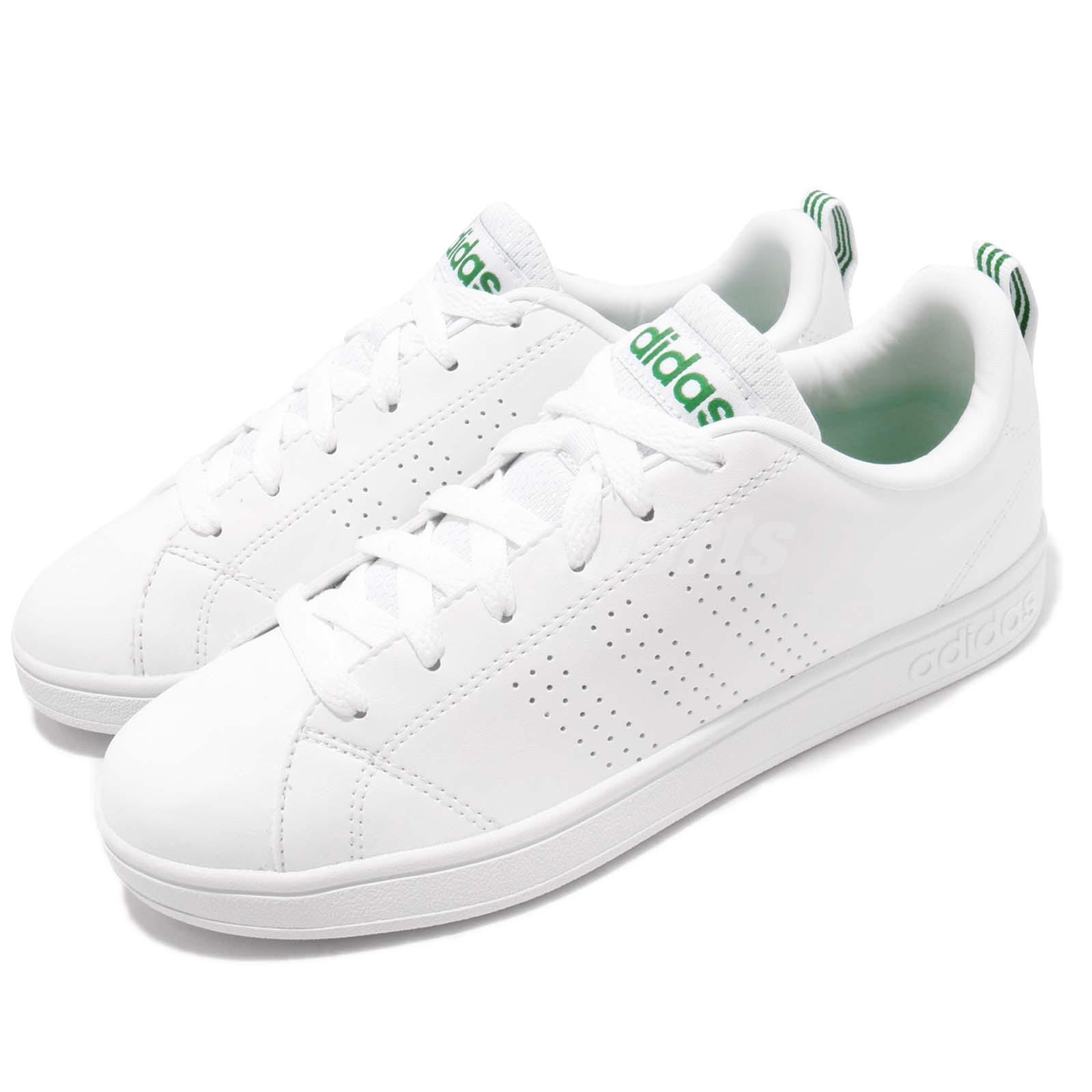 adidas Neo Label Advantage Clean VS White Green Mens ...