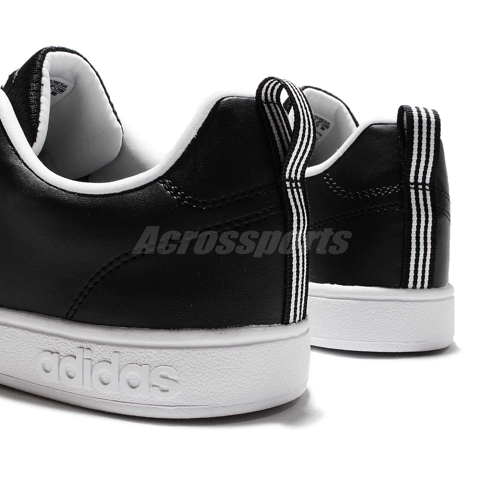 adidas neo black and white