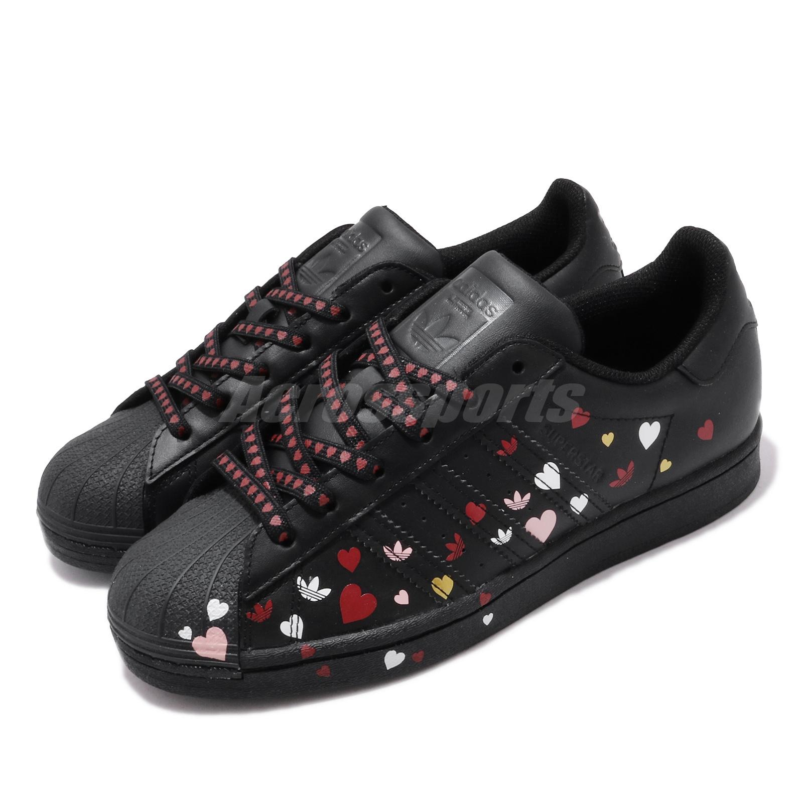 adidas Originals Superstar W Black Pink