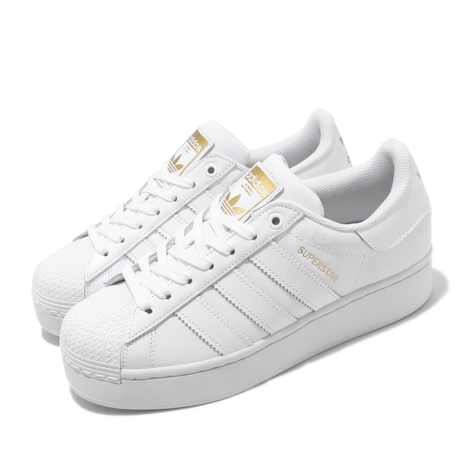 Details about adidas Originals Superstar Bold W White Womens Lifestyle  Casual Shoes FV3334