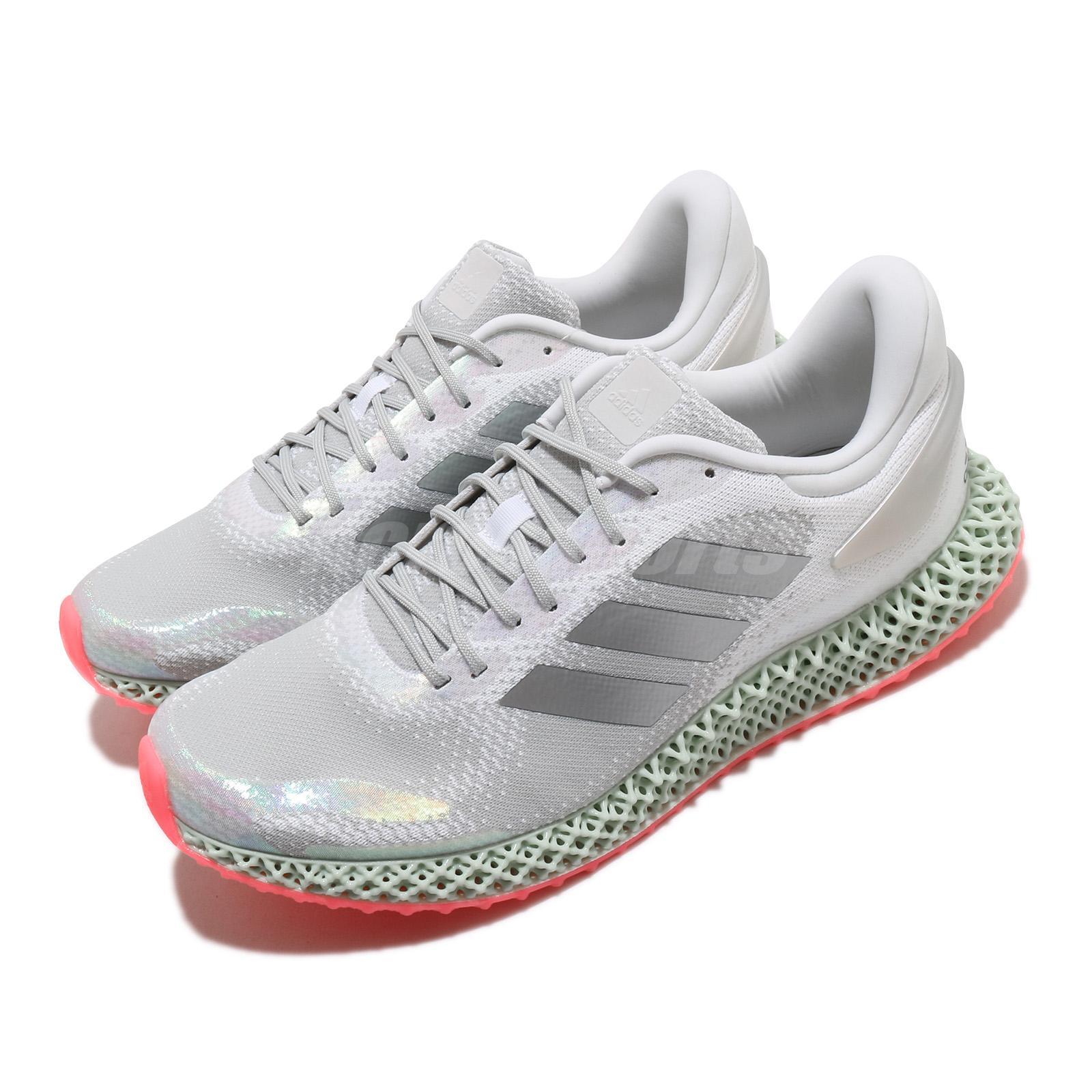 adidas 4D Run 1.0 Silver White Green