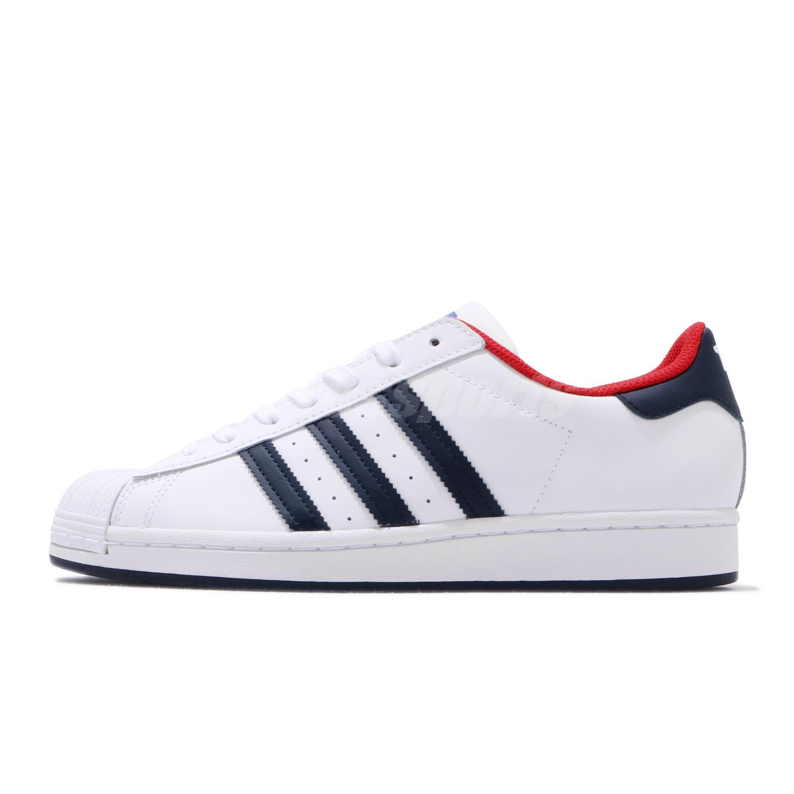 adidas Originals Superstar White Navy