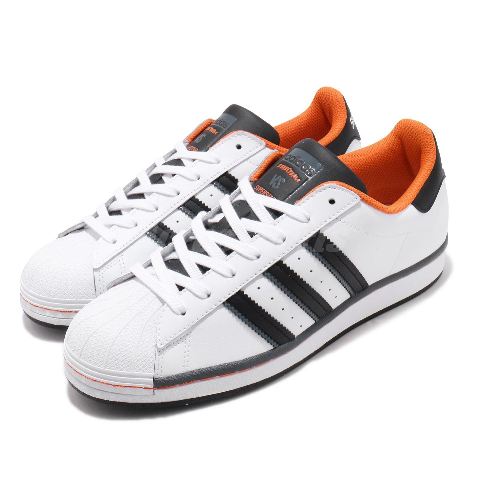superstar adidas orange