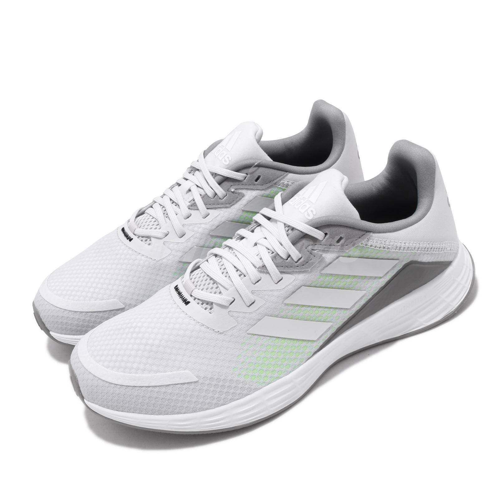 adidas Duramo SL Grey White Green Men