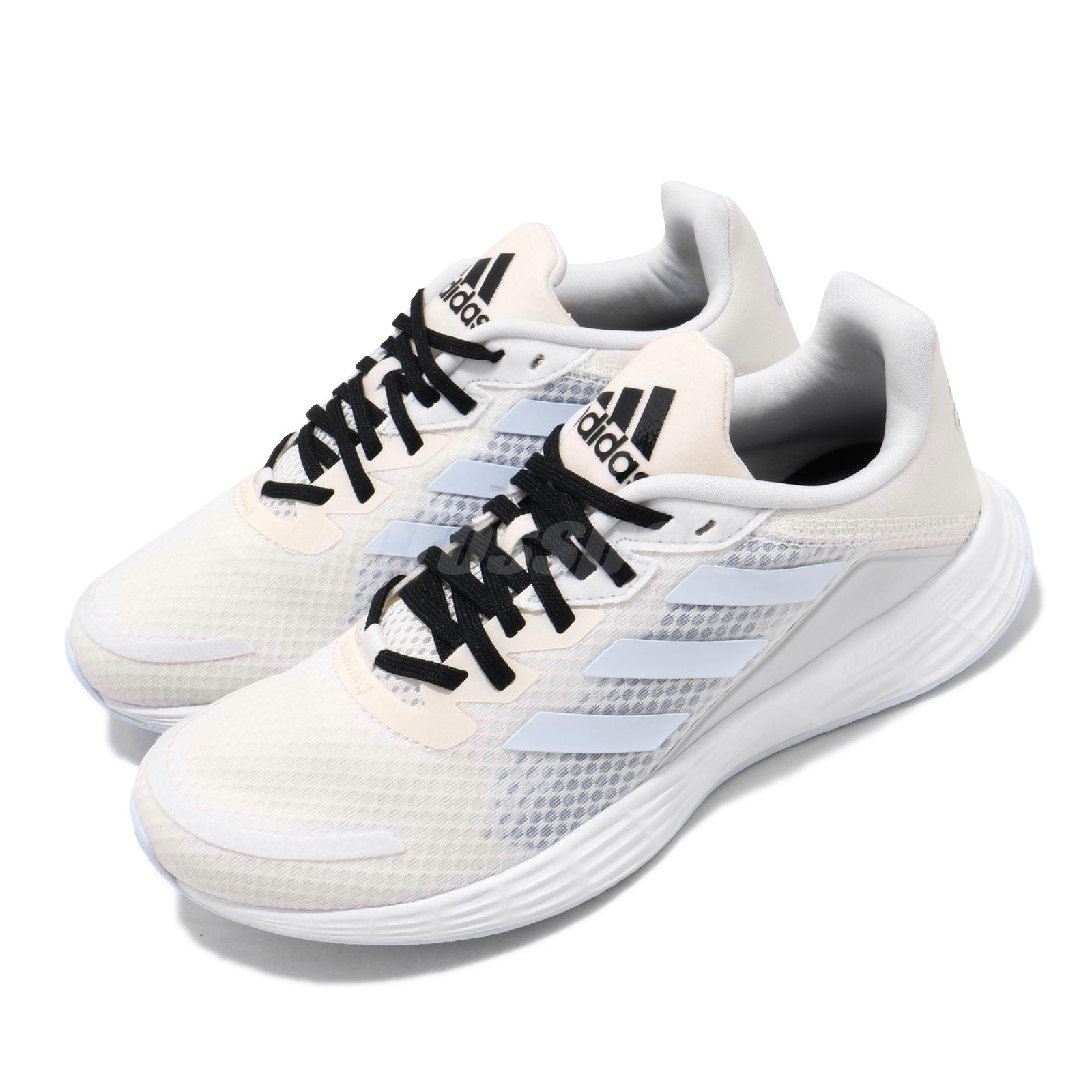 Details about adidas Duramo SL Beige Blue White Black Women Running Shoes  Sneakers FV8876