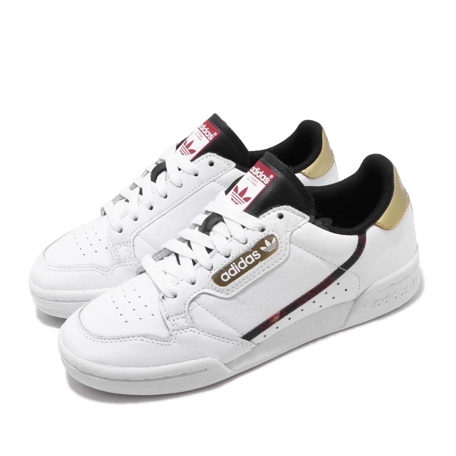 Details about adidas Originals Continental 80 White Gold Men Women  Lifestyle Shoes FW5325