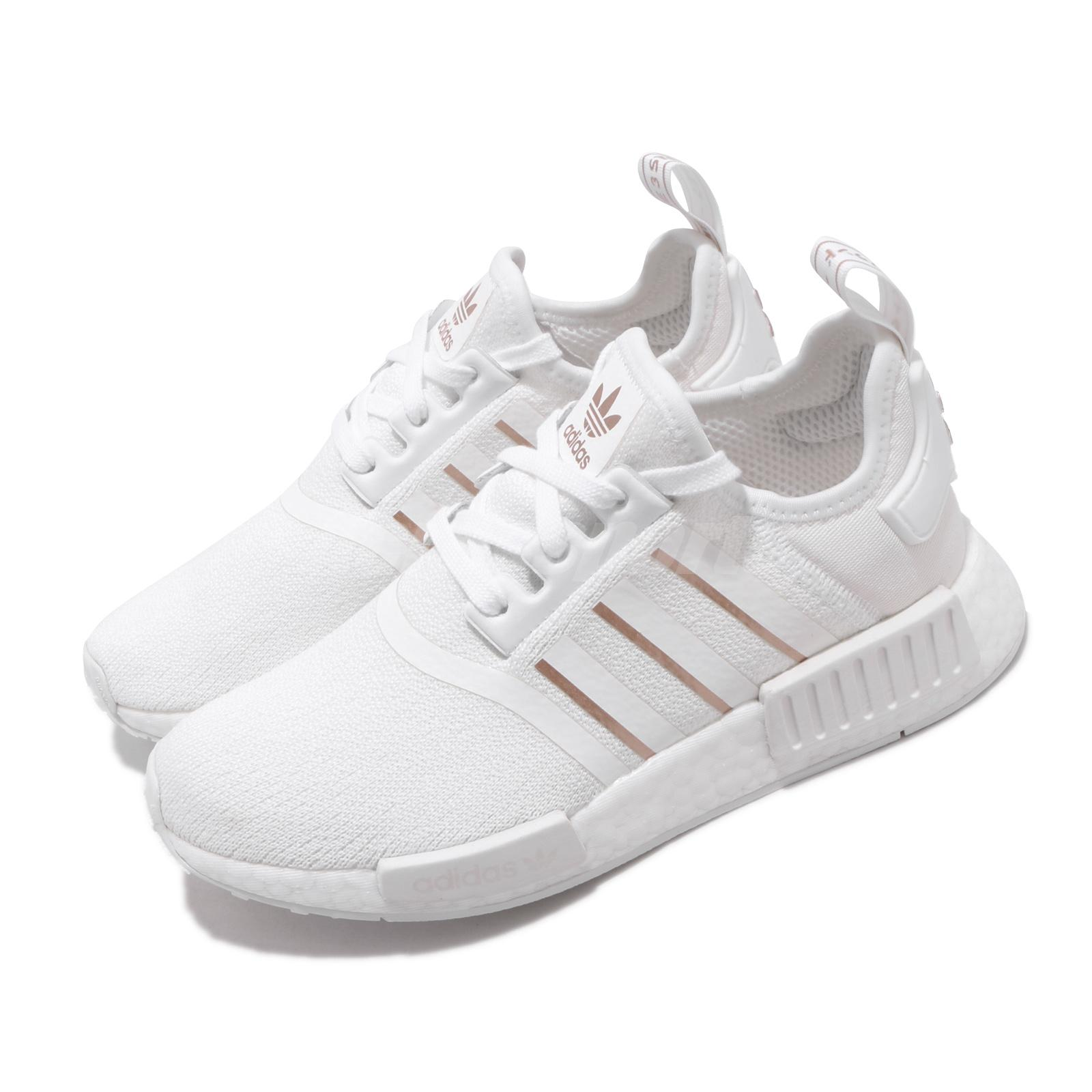 Adidas Originals Nmd R1 W Boost White Rose Gold Women Casual Shoe