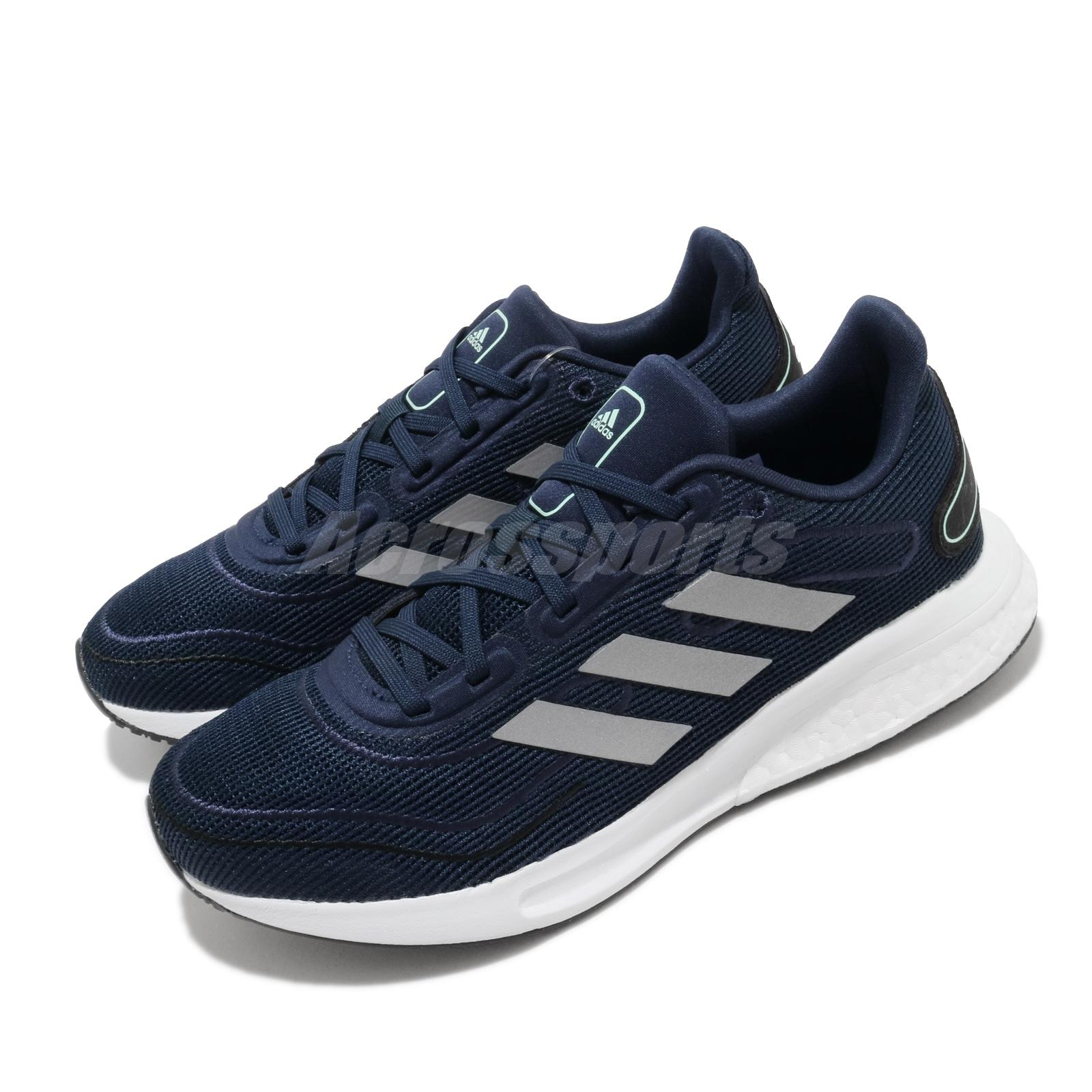Details about adidas Supernova J Navy Silver Bounce Boost Kids Women  Running Shoes FW9111