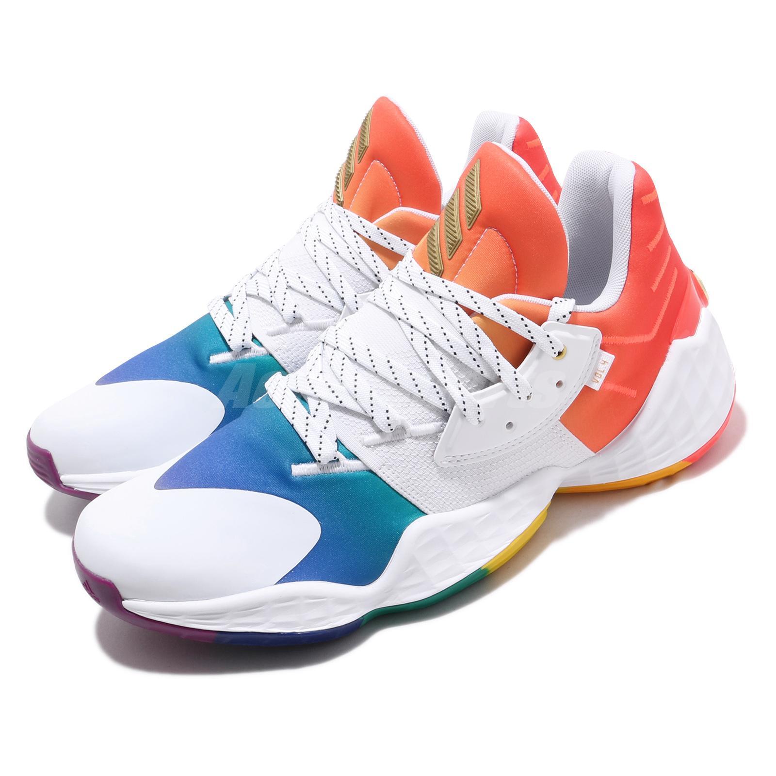adidas Harden Vol. 4 Pride Rainbow