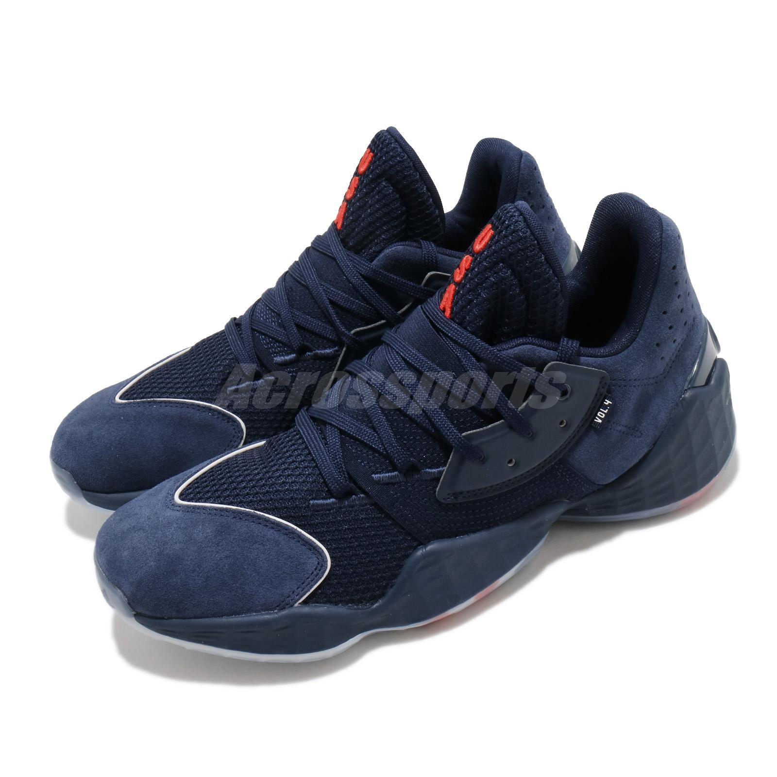 Químico tubería Vista  adidas Harden Vol.4 GCA IV James USA Navy Blue Men Basketball Shoes FY0870  | eBay