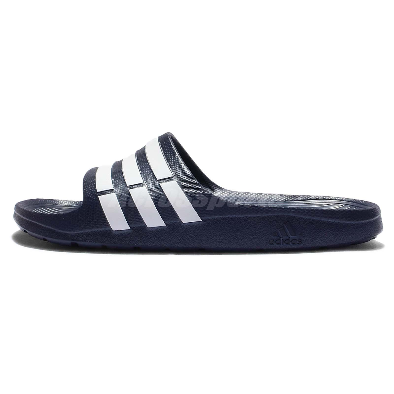 save off bab57 6d7cf adidas duramo slide slippers