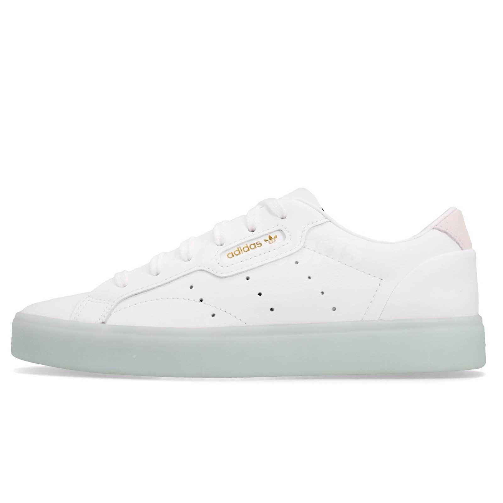 c8a7cce7 adidas Originals SLEEK W White Ice Mint Women Casual Lifestyle Shoes G27342
