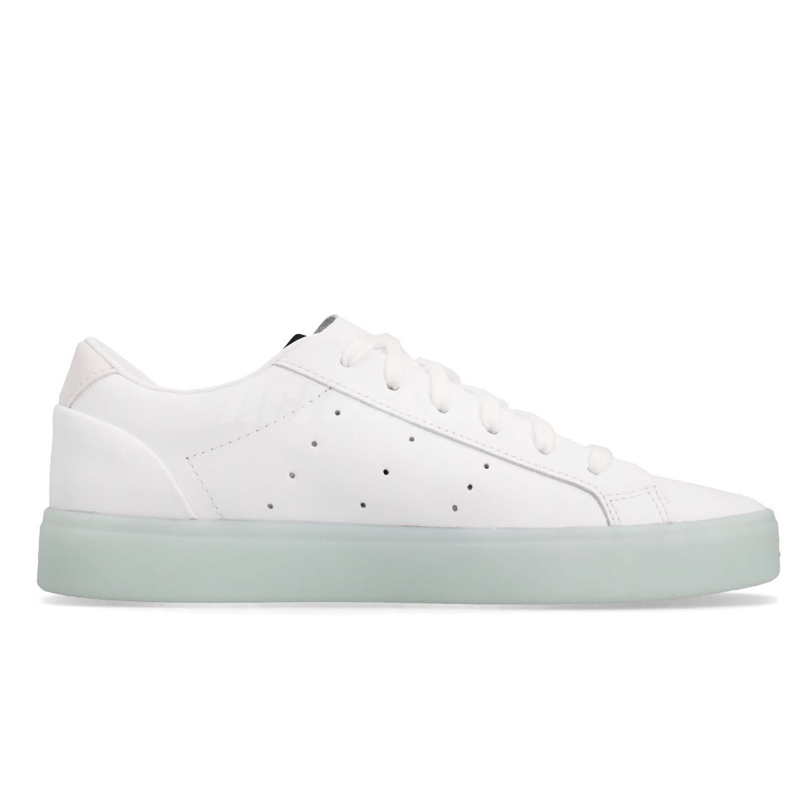 f490357a adidas Originals SLEEK W White Ice Mint Women Casual Lifestyle Shoes ...