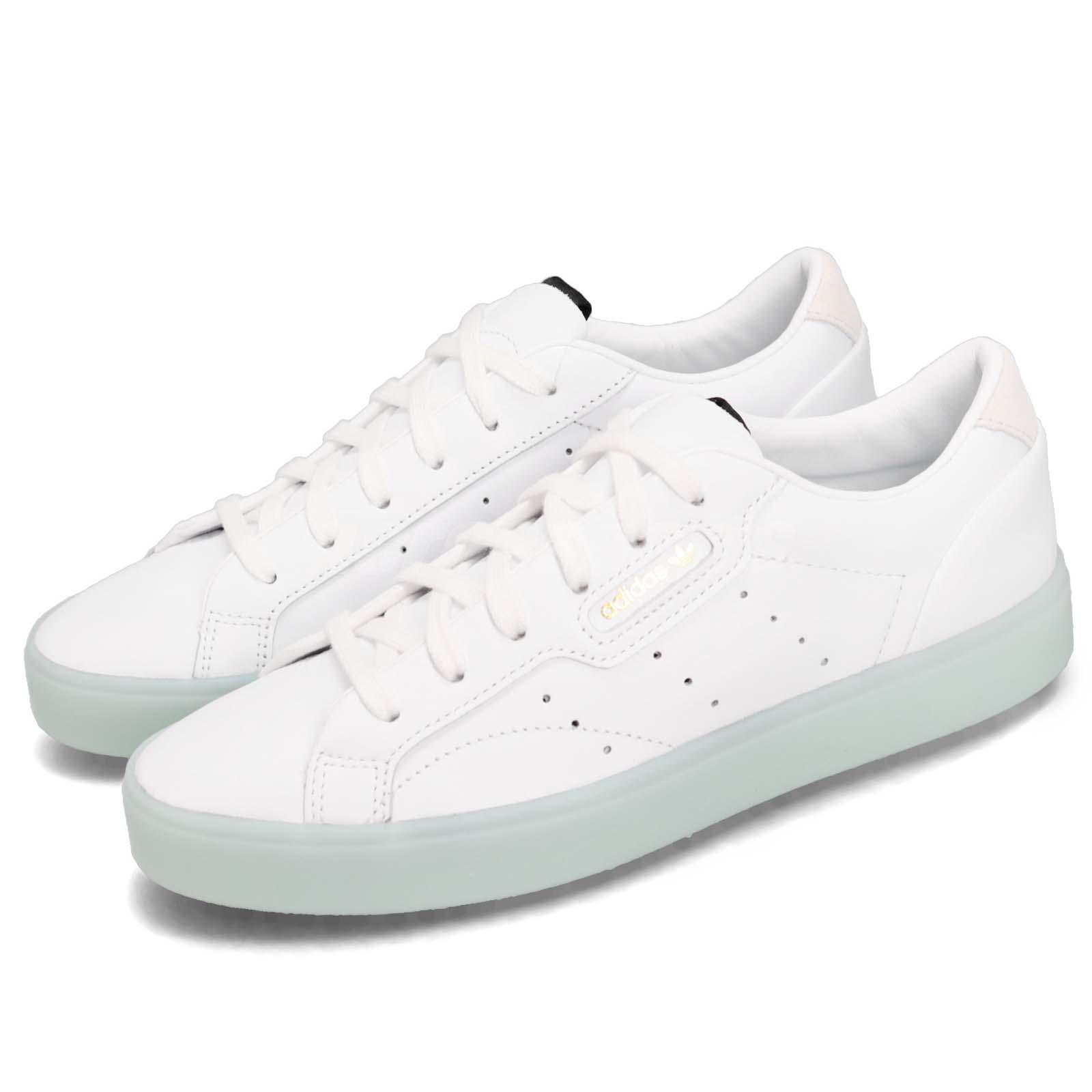 dedd6597 Details about adidas Originals SLEEK W White Ice Mint Women Casual  Lifestyle Shoes G27342