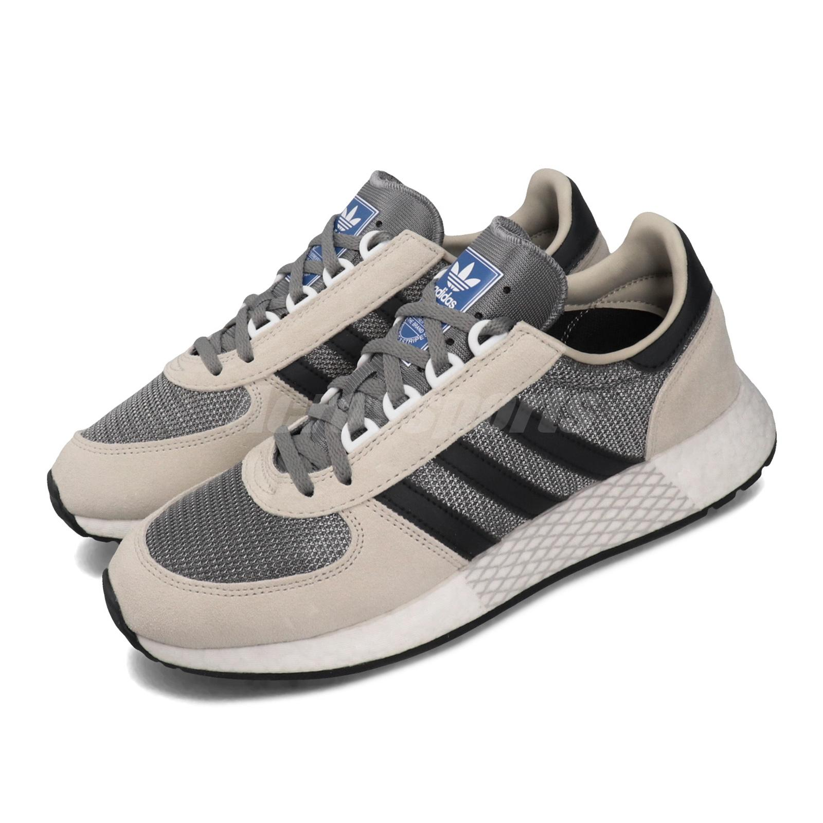 Resaltar Tortuga cubierta  adidas Originals Marathon Tech Brown Black Grey Mens Lifestyle Run Shoes  G27520 | eBay