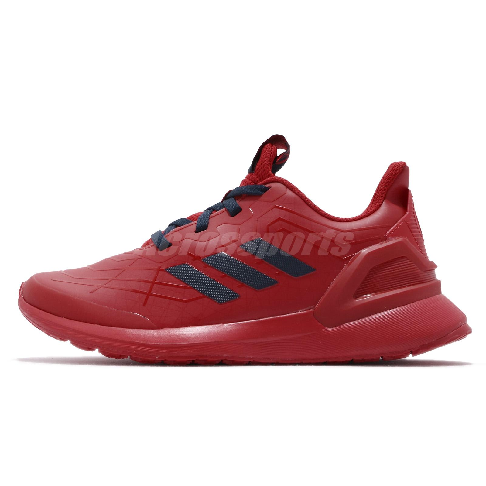 Details about adidas RapidaRun Spider Man K Marvel Scarlet Kid Preschool Shoes Sneakers G27557
