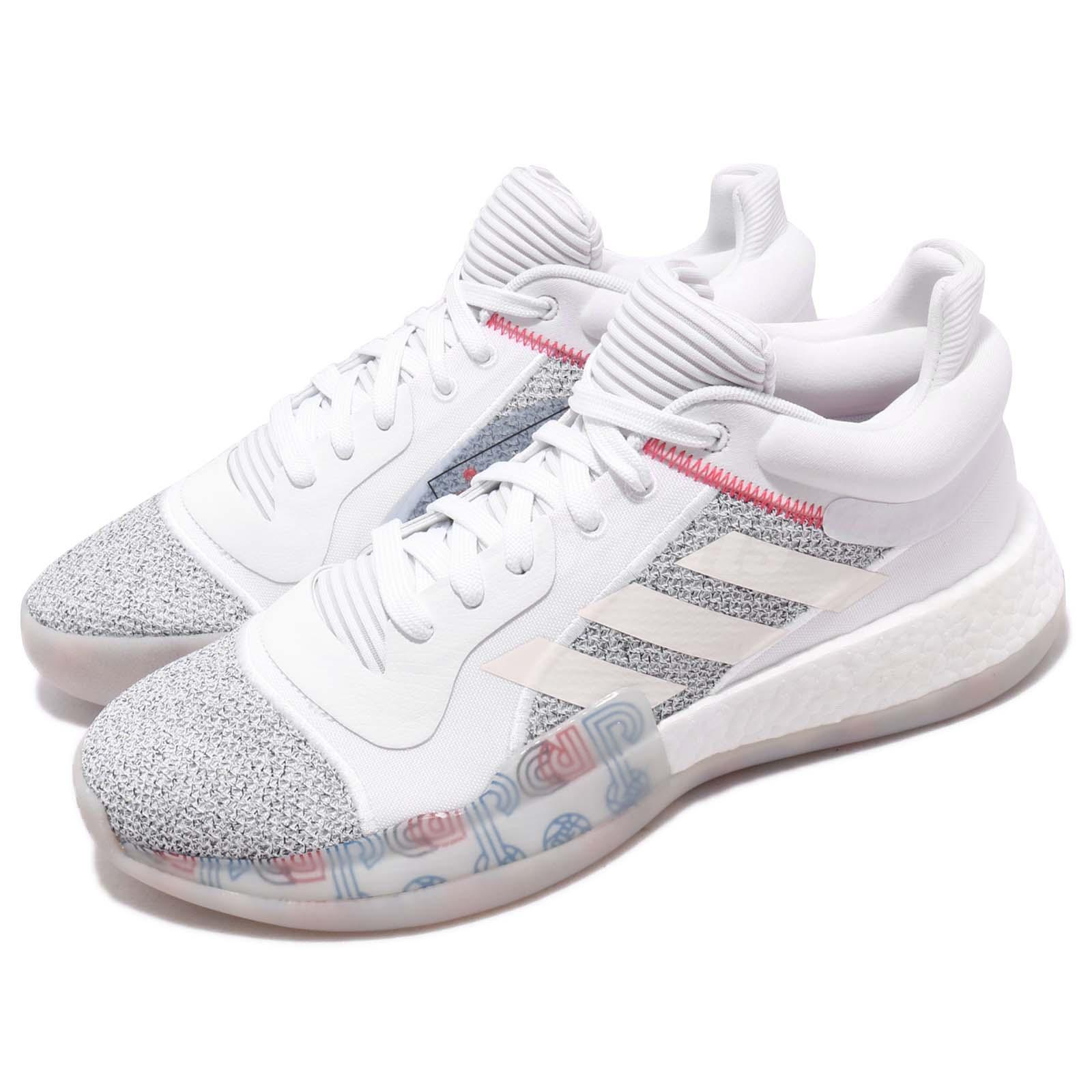 Athletic Shoes Men's Shoes Adidas Marquee Boost Low Off White Shock Cyan Men Basketball Shoe Sneaker G27745
