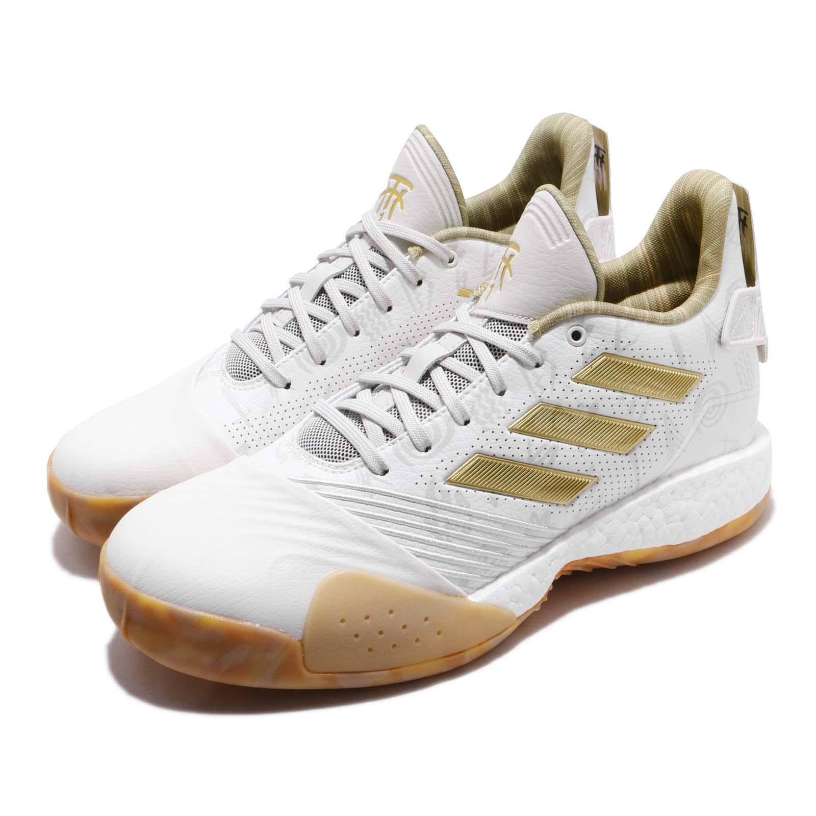 368f25d8 Details about adidas T-Mac Millennium White Gold Tracy McGrady Mens  Basketball Shoes G27750