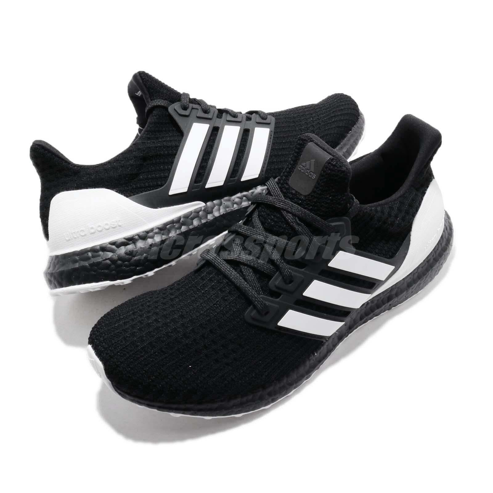 size 40 5ec89 dfbbf adidas UltraBoost 4.0 Orca Black White Carbon Men Running Shoes ...