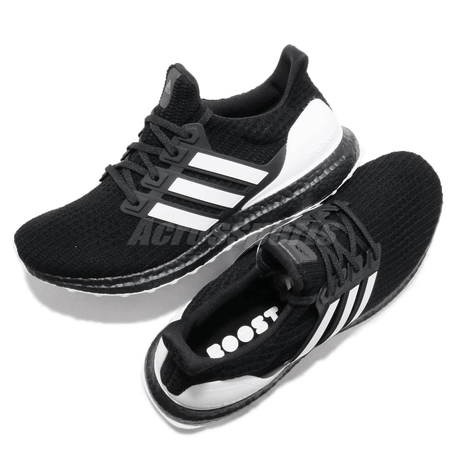 fde802b6d adidas UltraBoost 4.0 Orca Black White Carbon Men Running Shoes ...