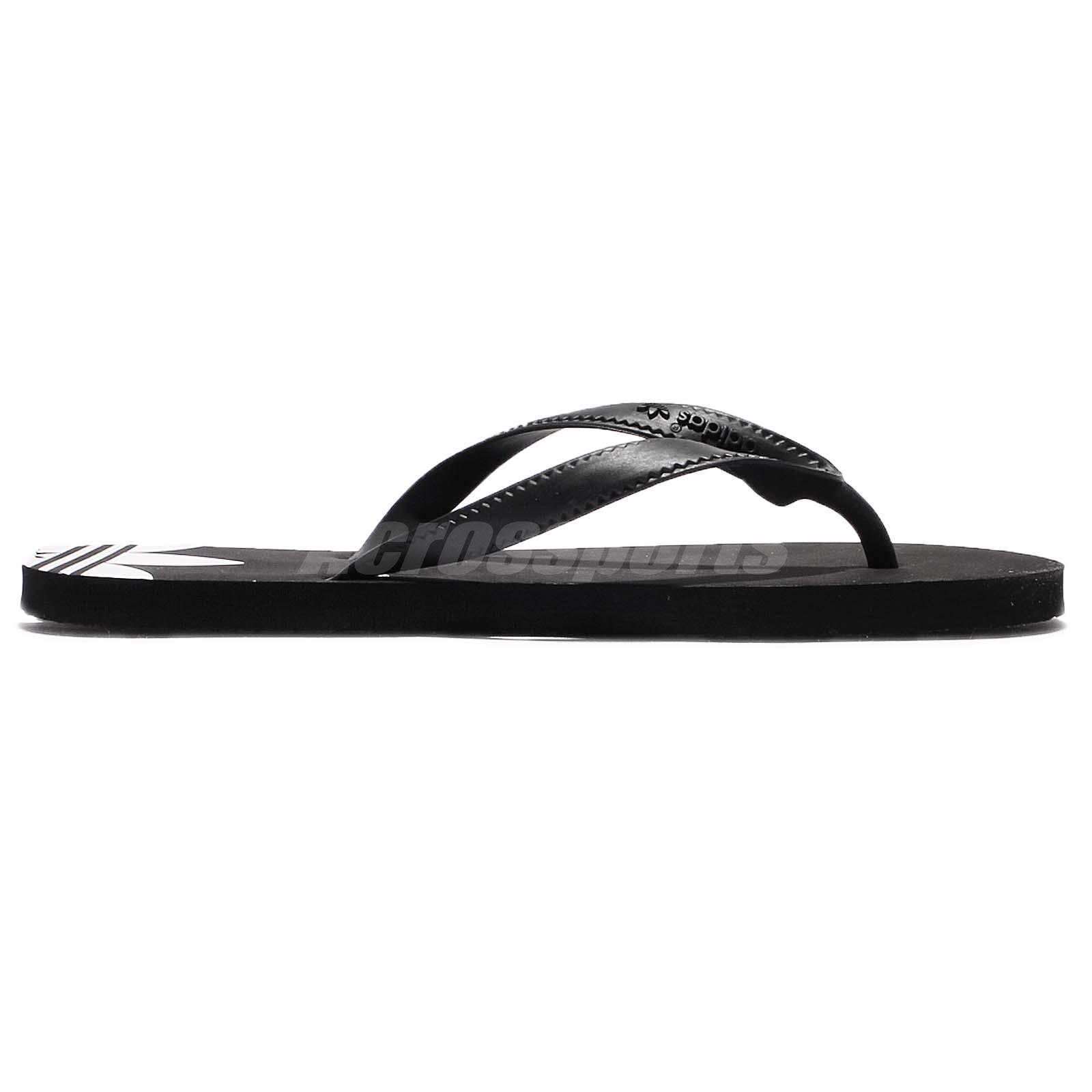 e35e99e77 adidas Originals ADI Sun W Black White Women Thong Flip-Flop Sandal ...