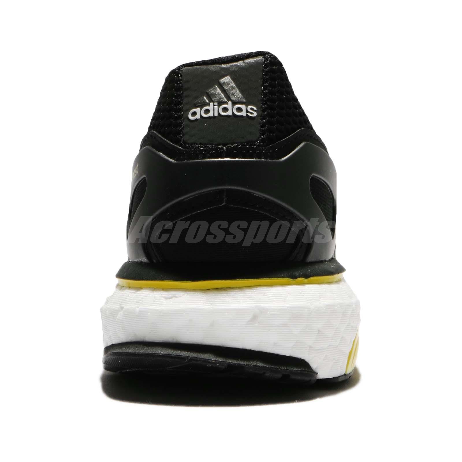 10481820afd adidas Energy BOOST M OG Retro 2018 Black Yellow White Men Running ...