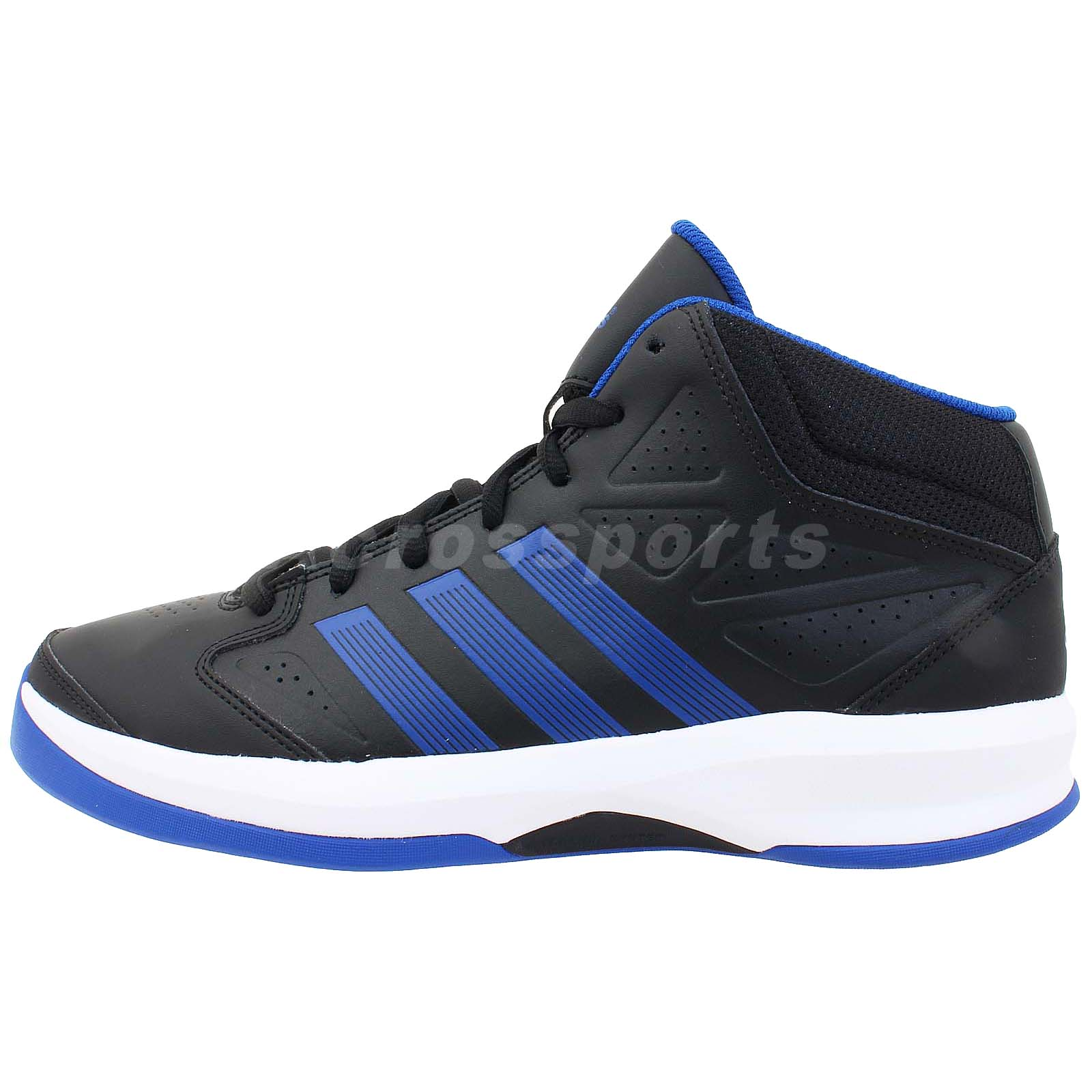 Adidas Isolation  Navy Blue Basketball Shoes