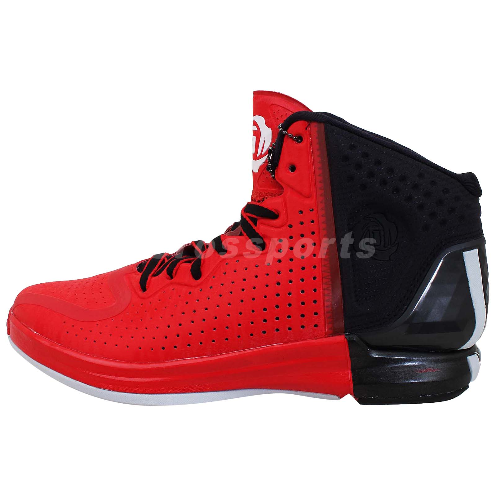 "Adidas D Rose 4 IV Derrick "" Brenda "" RED Black Bulls 2013 ..."
