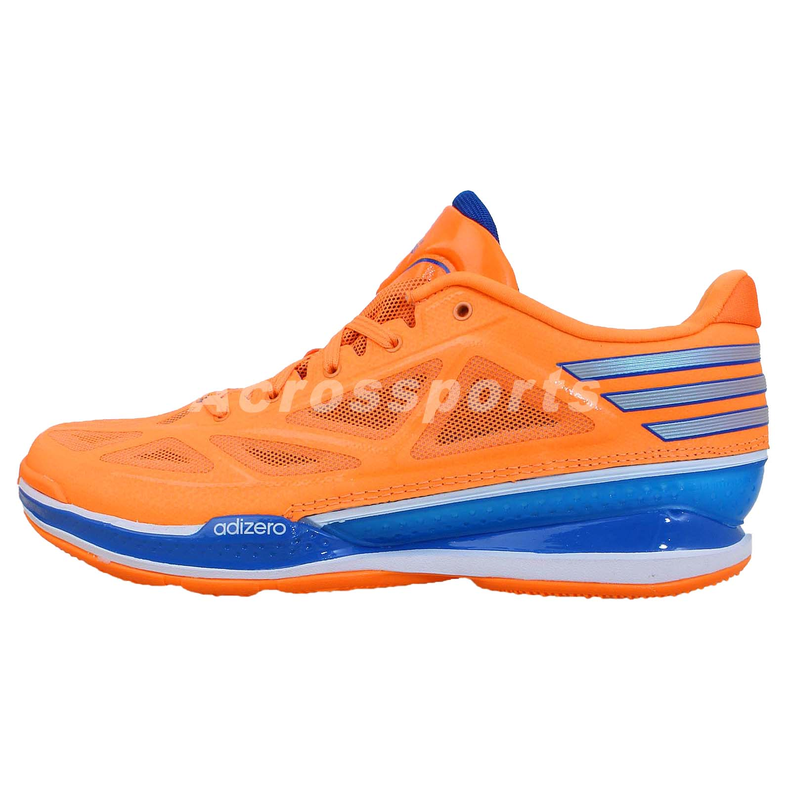 new arrival 803d6 c88e1 Adidas Adizero Crazy Light 3 Low Orange Blue 2014 Mens