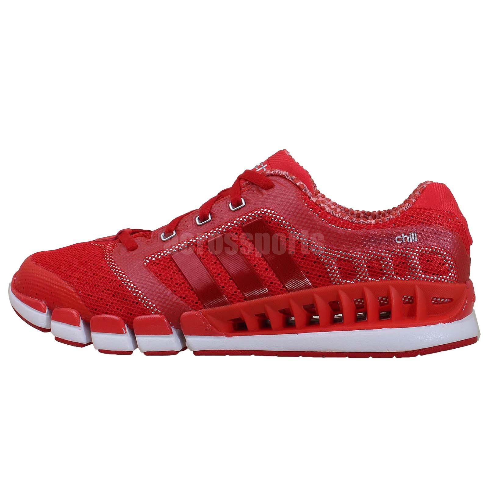 HG243125 Adidas Climacool Running WhiteBlackRed Ride Shoes
