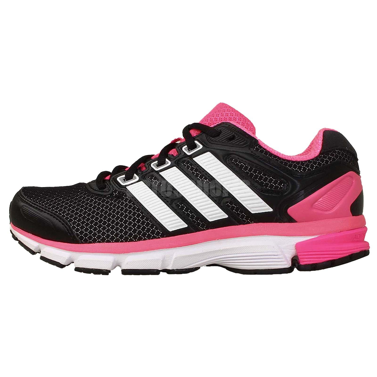 adidas nova stability w black white pink 2014 womens