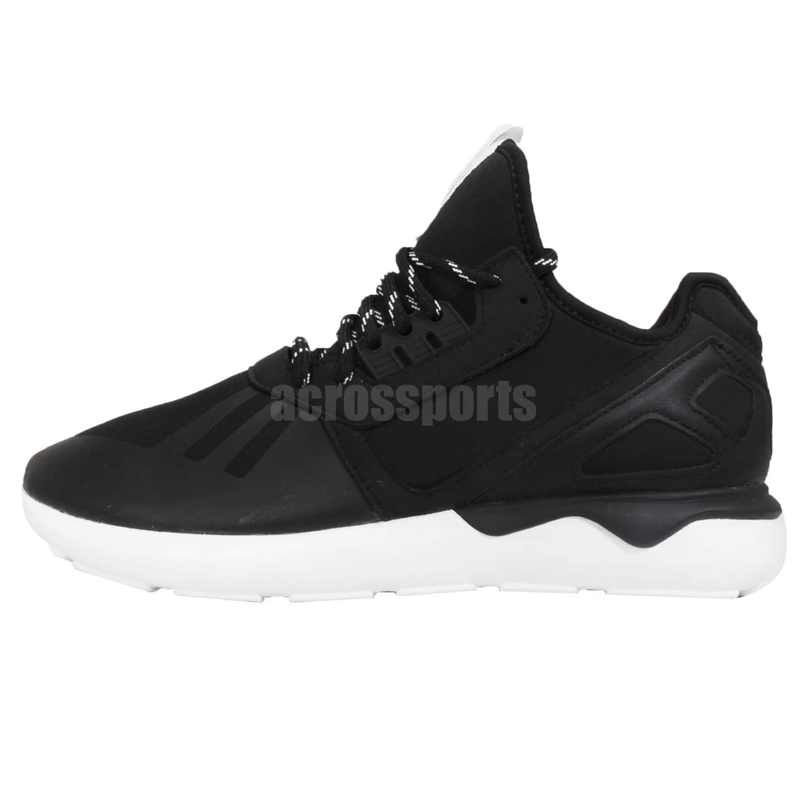 meet 98b88 5d08f adidas Originals Tubular Runner Black Mens Running Shoes Sneakers Y3 M19648
