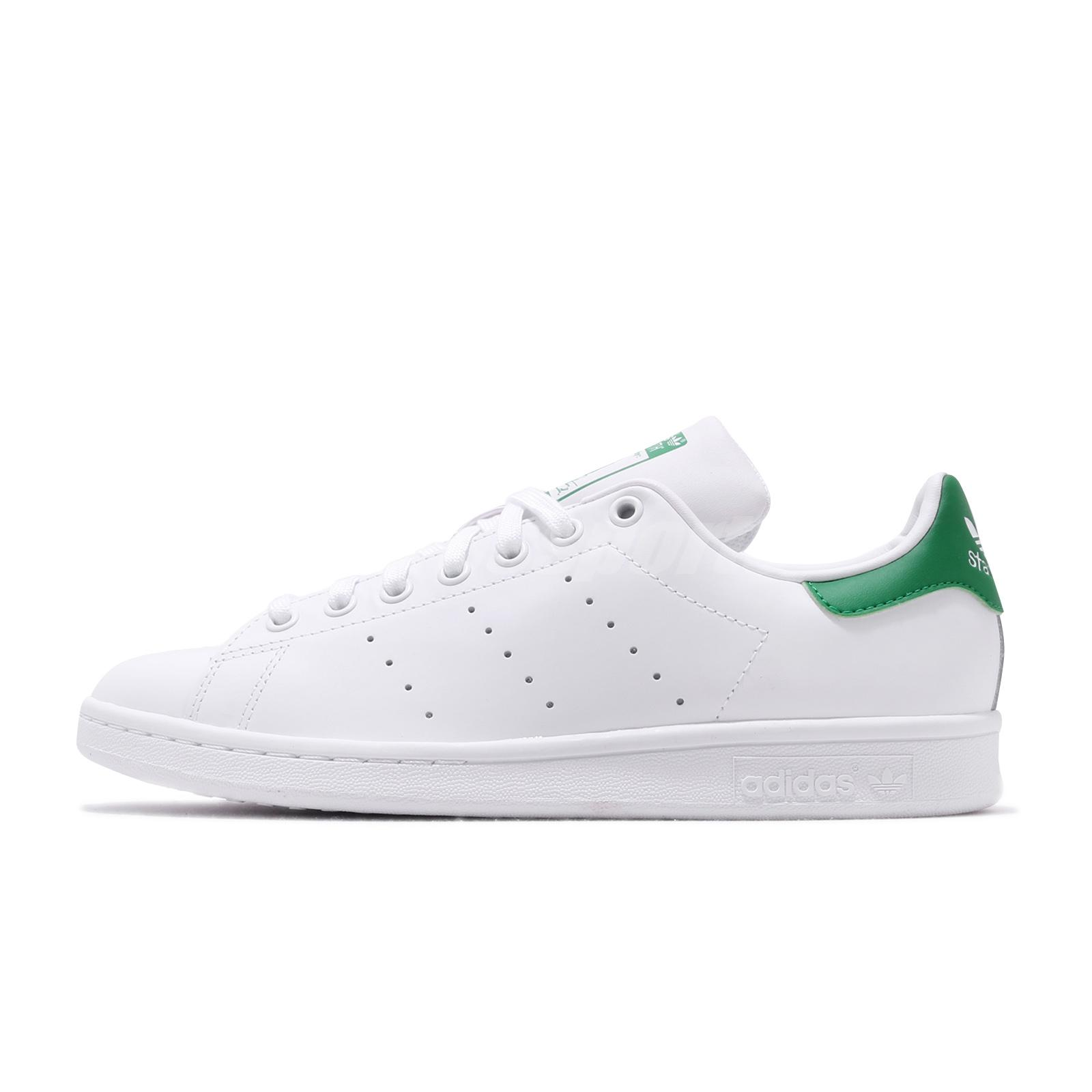promo code 4be4a 5dc16 adidas Originals Stan Smith White Green Men Classic Casual Shoes Sneakers  M20324