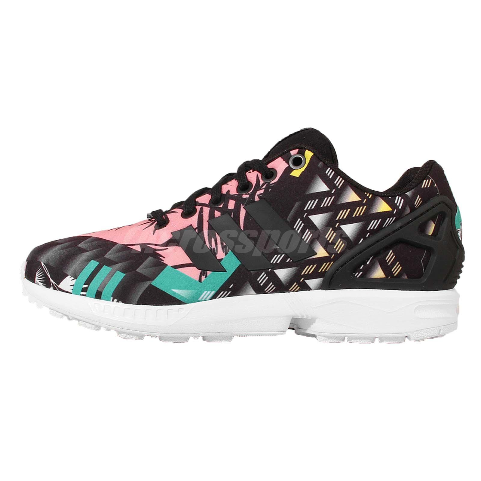 adidas Originals ZX Flux W Black Floral Women Running Shoes Sneakers S74980