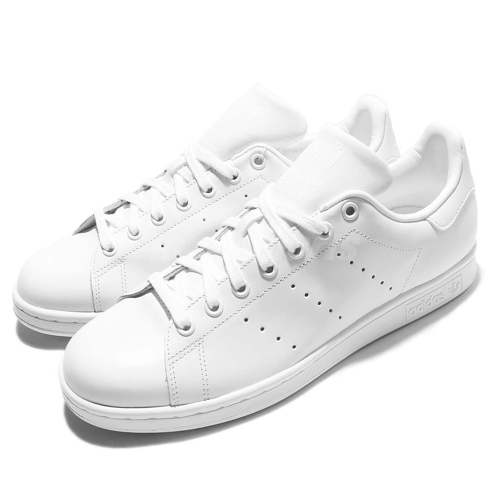 Details about adidas Originals Stan Smith Triple White Monochrome Men Shoes Sneakers S75104