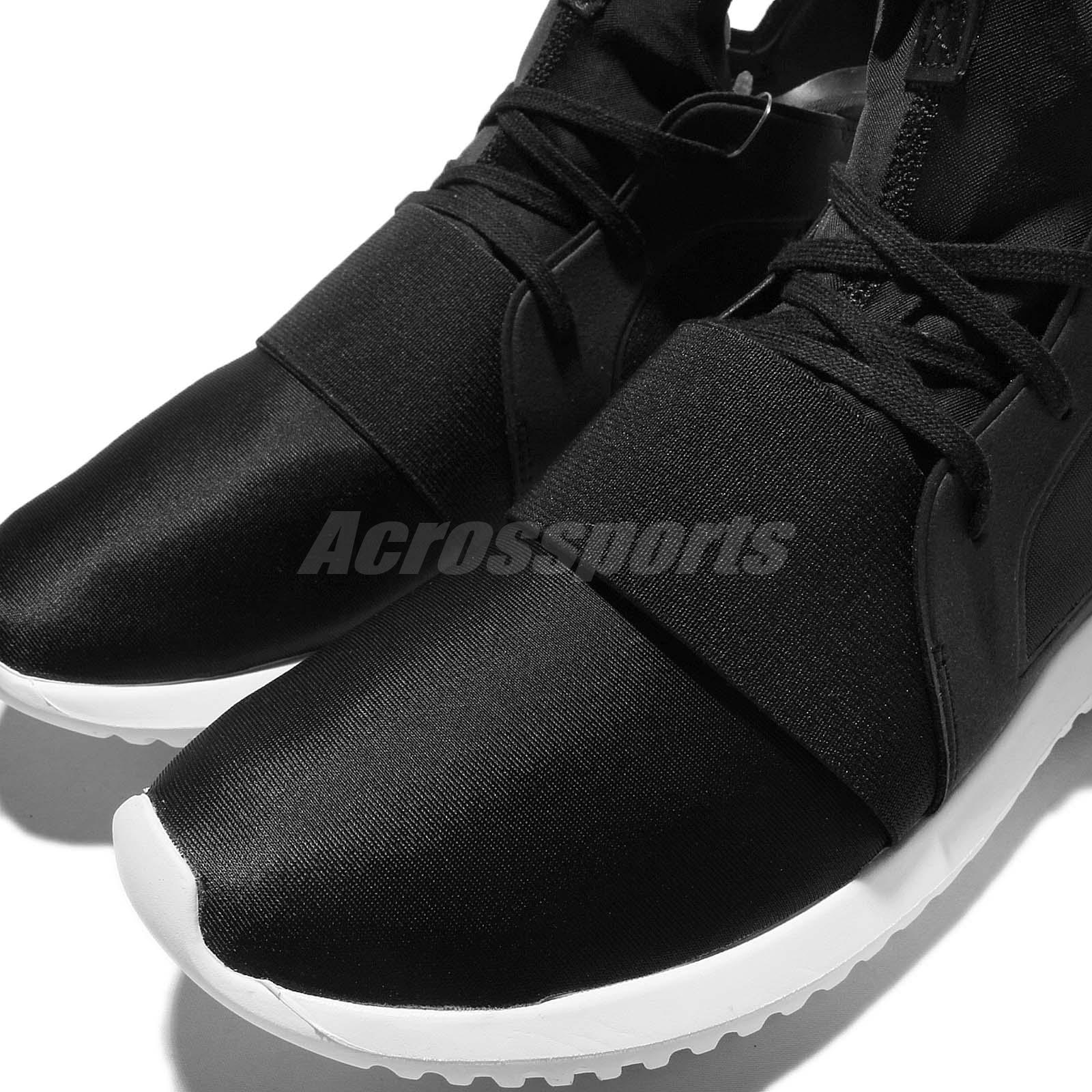 buy popular eef88 67620 Details about adidas Originals Tubular Defiant W Black White Womens  Sock-Like Shoes S75249