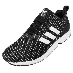 da83c19dc1bba Adidas Zx Flux Black With White Stripes softwaretutor.co.uk