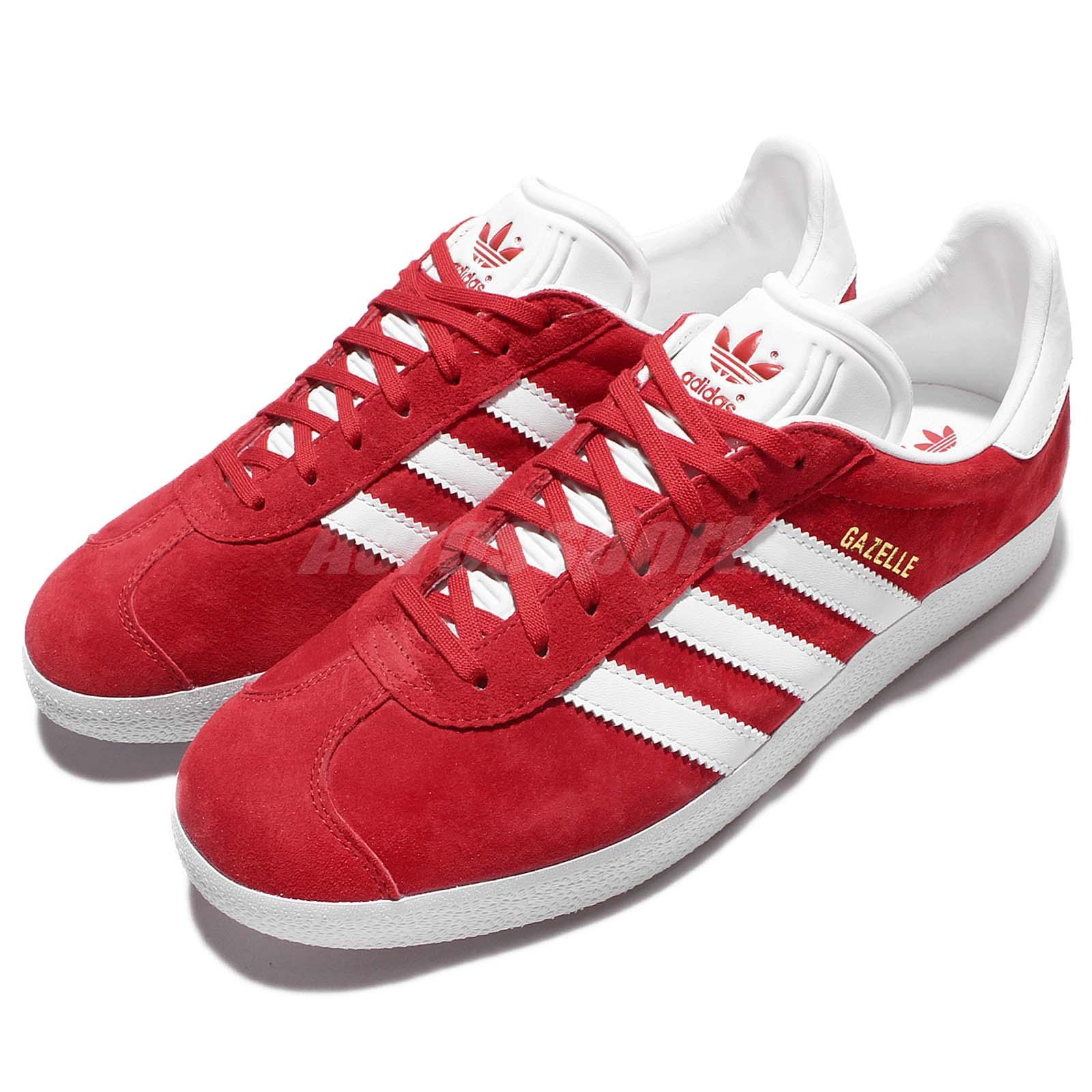 adidas Originals Gazalle Red White Men
