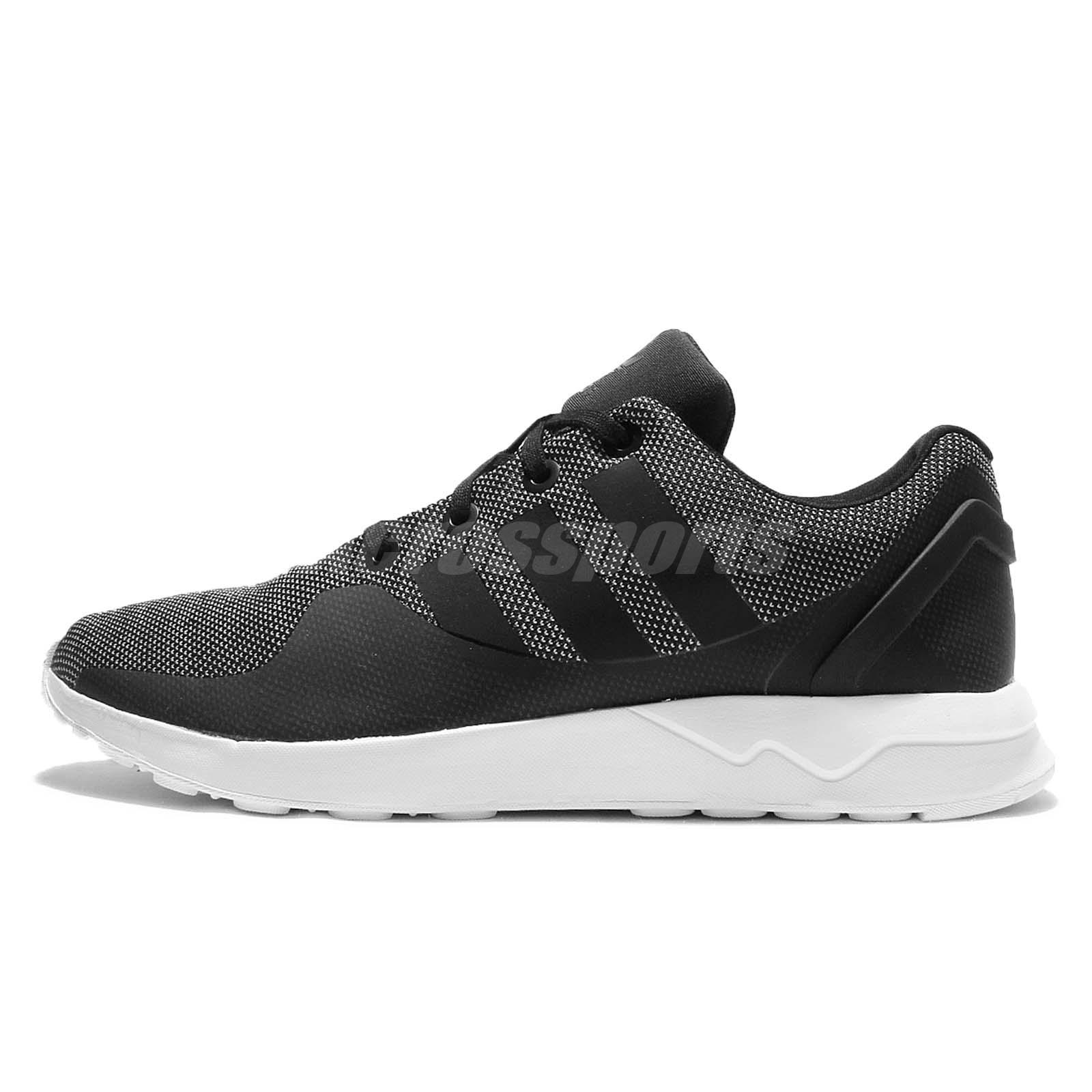 check out c7a88 8c7b8 ... spain adidas originals zx flux adv tech textile black grey mens running  shoes s76396 fbb8d ff688