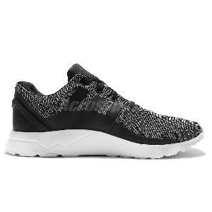 506ec66a2 ... adidas Originals ZX Flux ADV Tech Textile Black Grey Mens Running Shoes  S76396