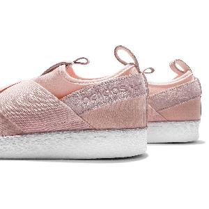 adidas superstar slip on Pink on sale   OFF43% Discounts 76623610e