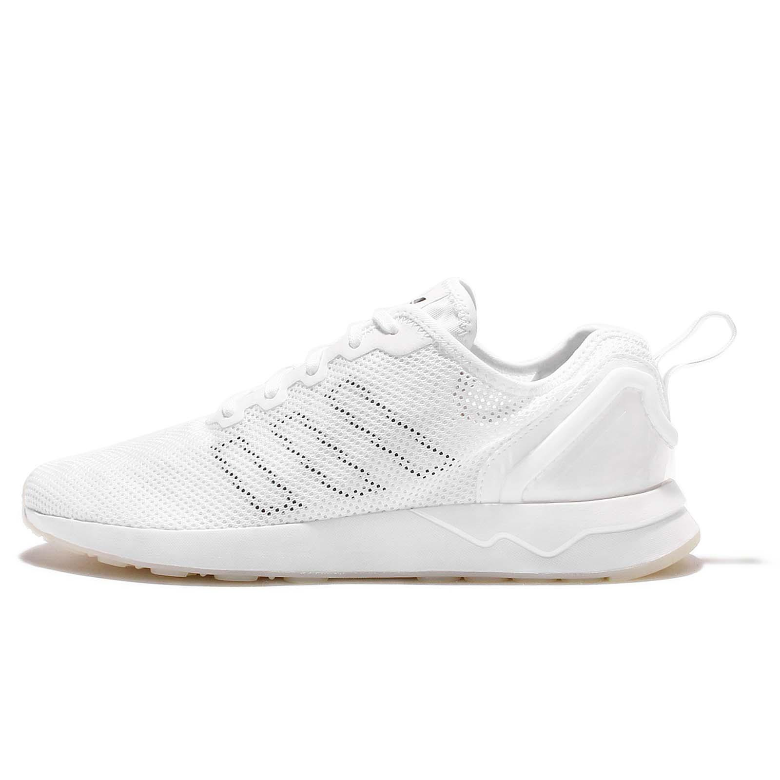finest selection 6a414 3fcff ... adidas Originals ZX Flux ADV SL White Mens Running Shoes Sneakers  S76556 ...