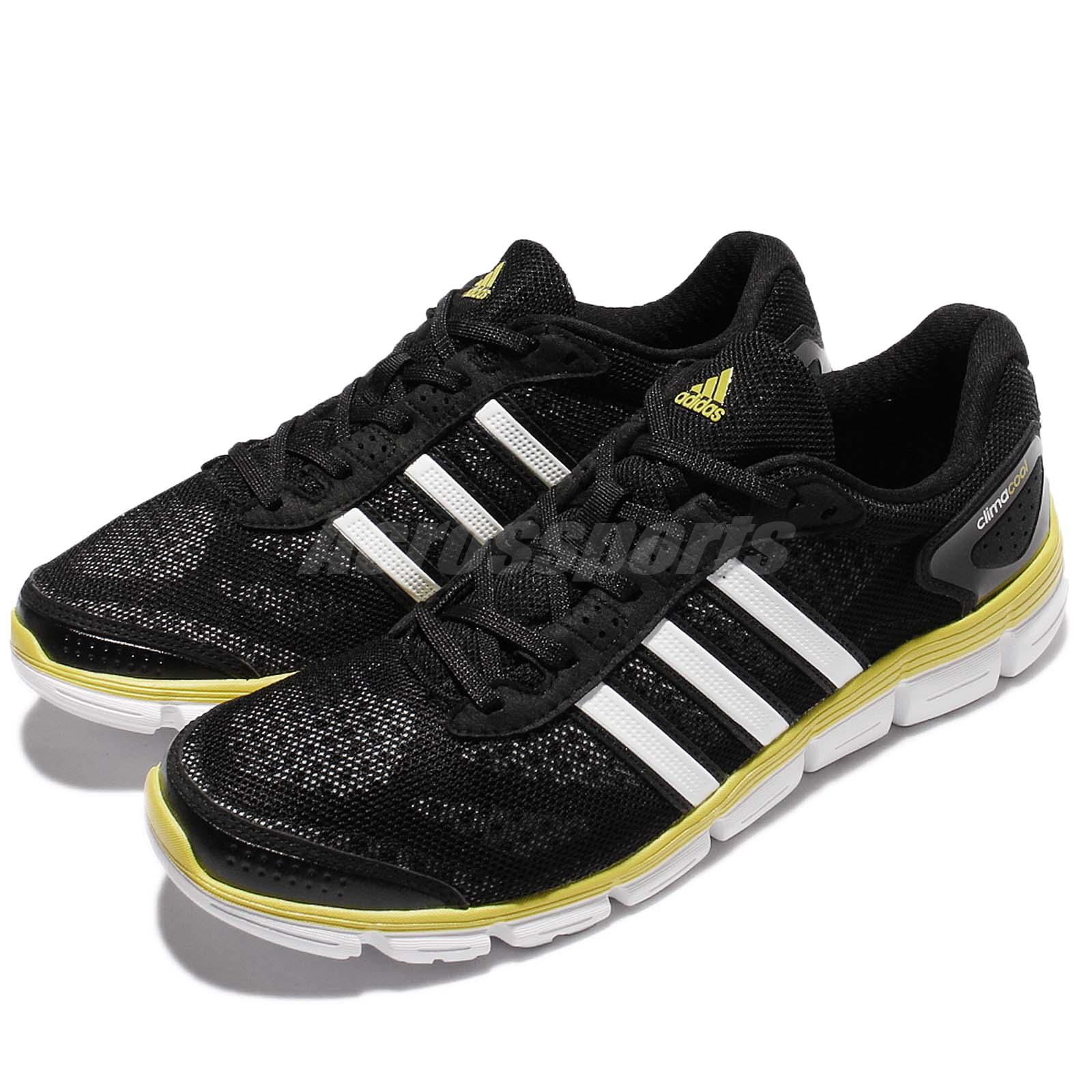 2a9d6212 Details about 50% Off adidas CC Fresh M Climacool Black Yellow Men Running  Shoe Trainer S76750