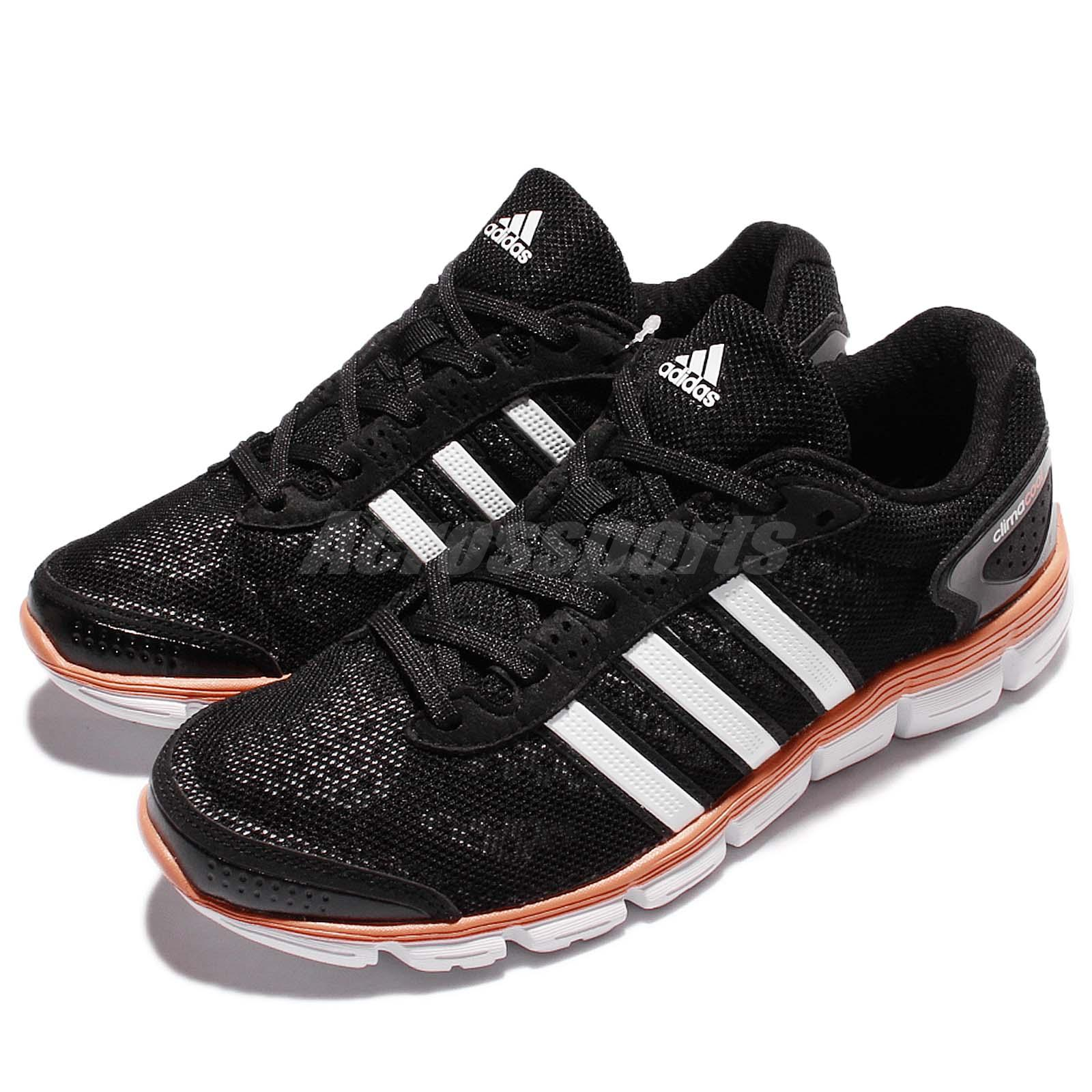 1ea91b780dc9e Details about 50% Off adidas CC Fresh W Climacool Black Orange Women  Running Shoes S76762