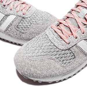 37469d10 ... adidas Originals ZX 700 W Grey White Pink Suede Womens Trainers S78941  . ...