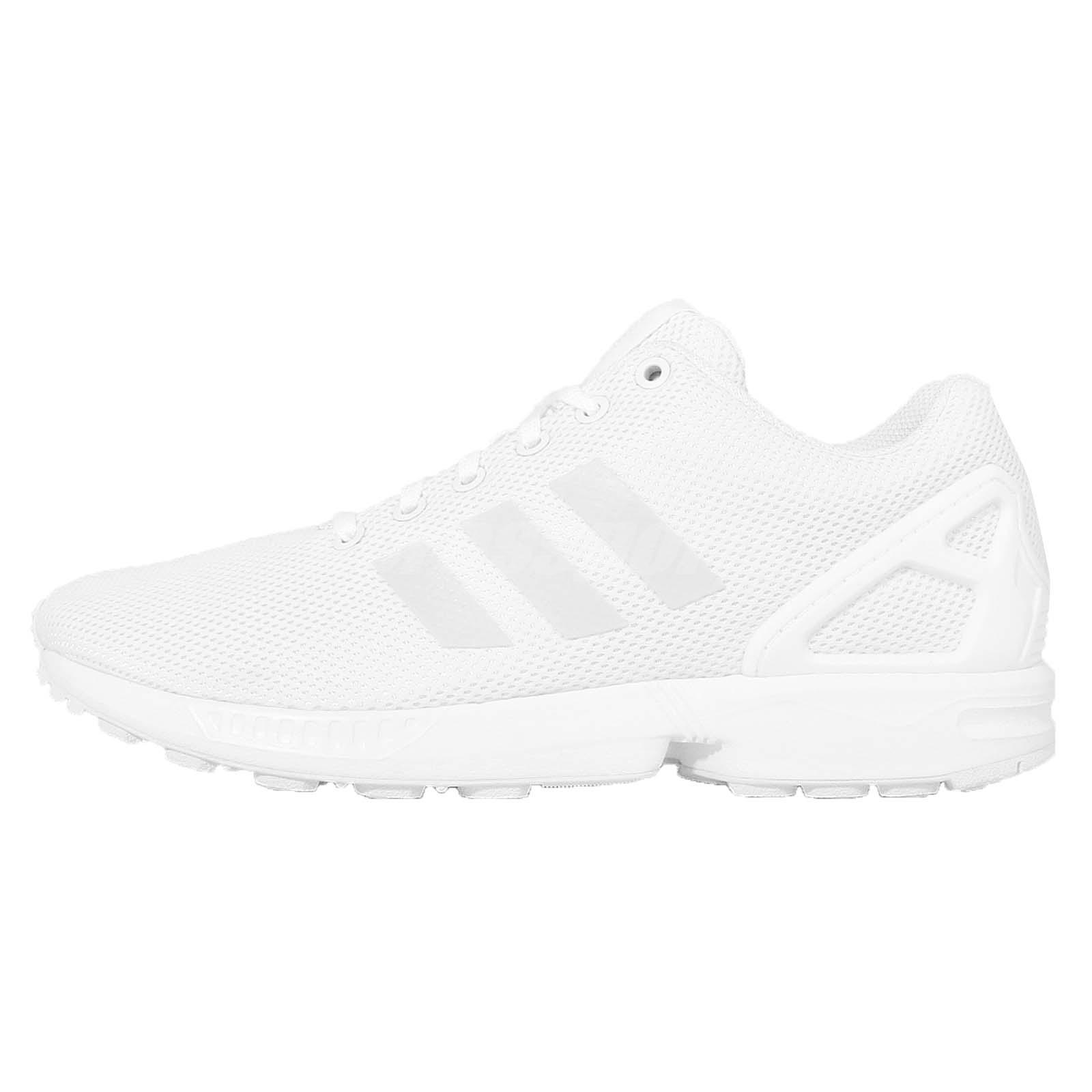 adidas zx flux shoes white