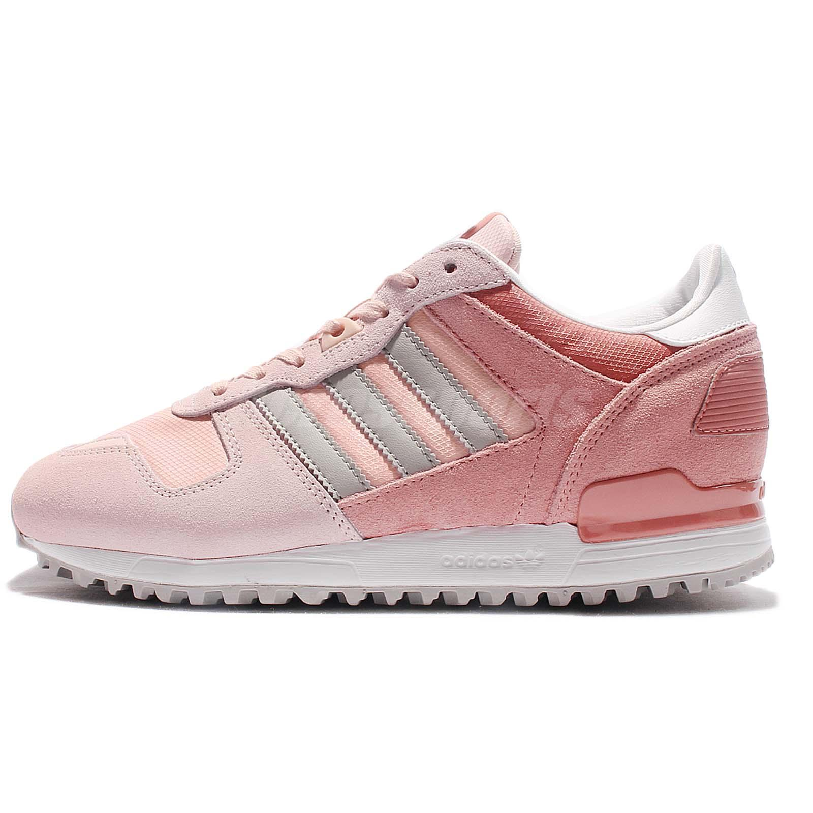 adidas Originals ZX 700 W Pink Grey Women Classic Shoes Sneakers Trainers  S79798