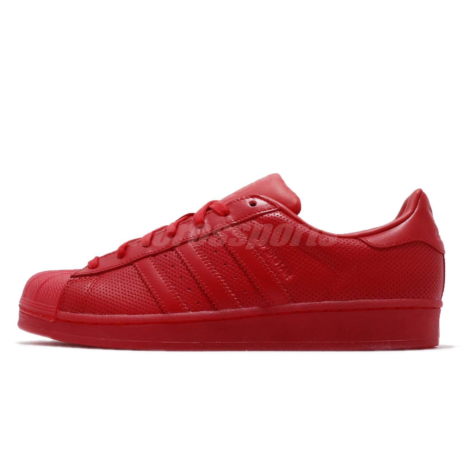 half off d1a66 7bf12 adidas Originals Superstar Adicolor Scarlet Red Men Casual Shoes Sneakers  S80326