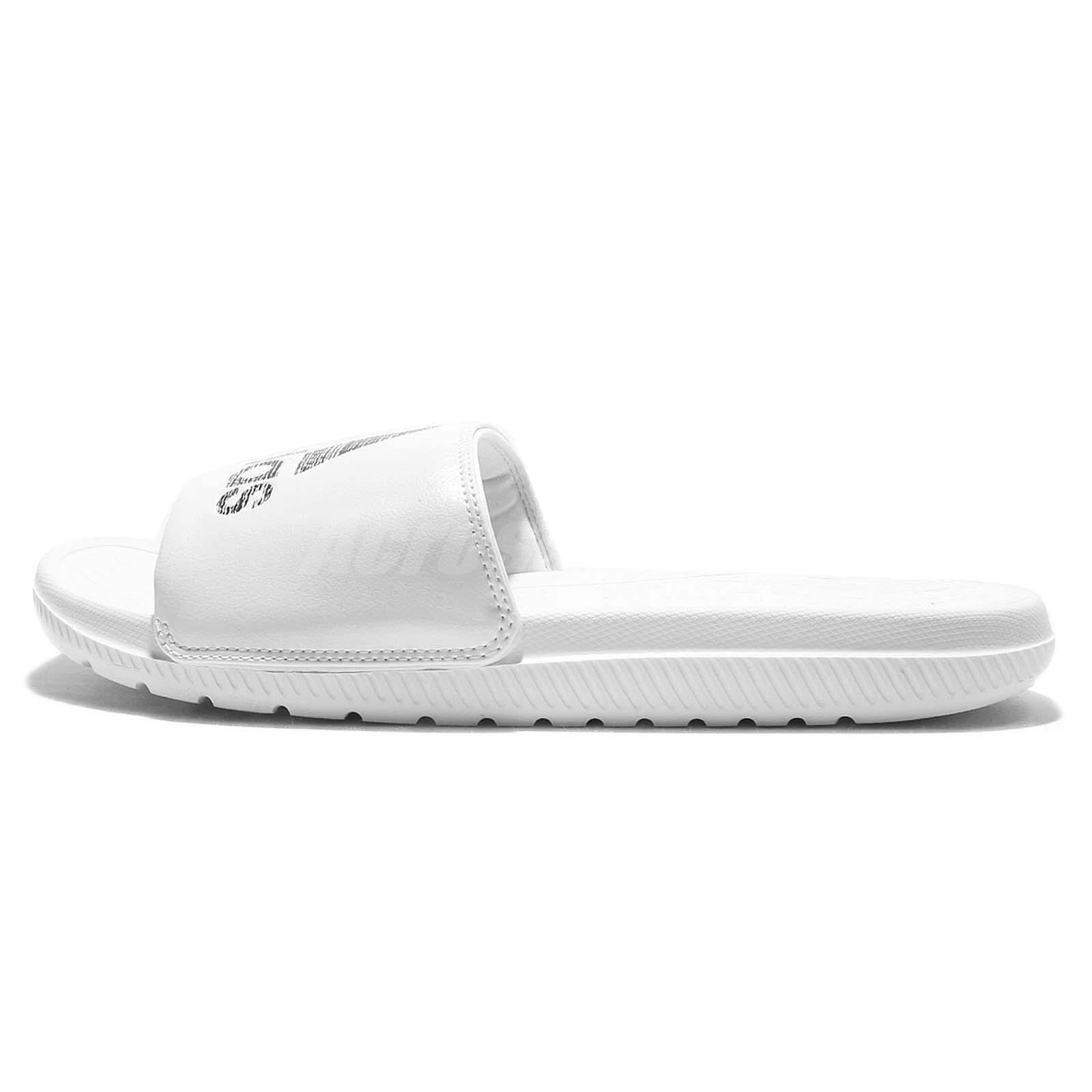 572f77326909 adidas Voloomix White Black Men Sandal Slippers Slides S80406