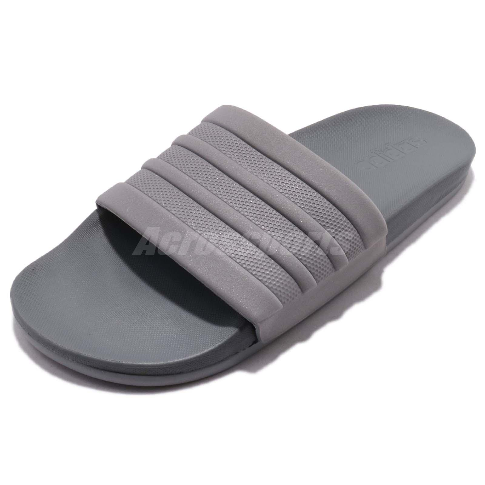 4fc0c5ed8ee adidas Adilette Comfort Grey Three Men Sports Sandal Slides Slippers S80977